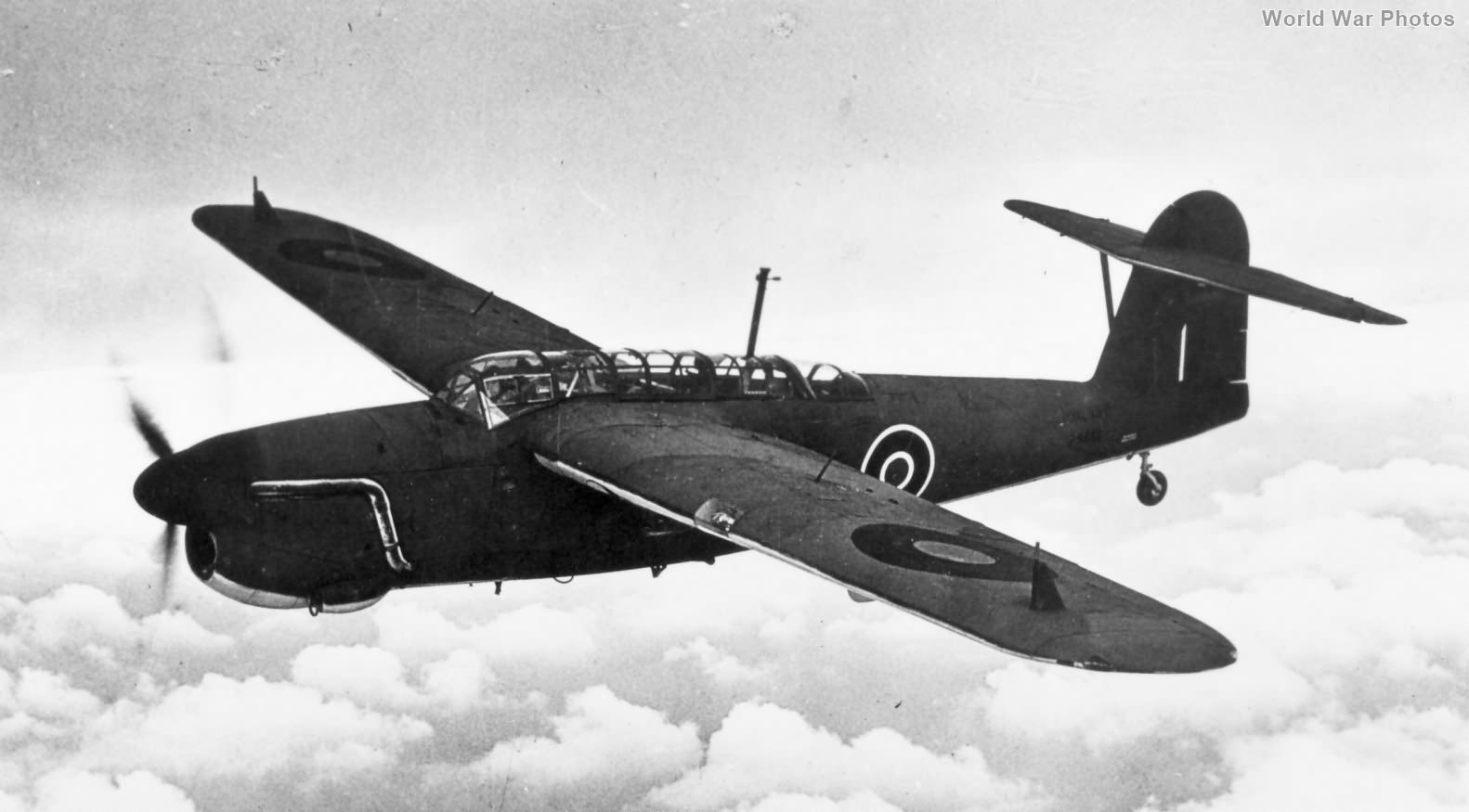 Barracuda Mk I in flight
