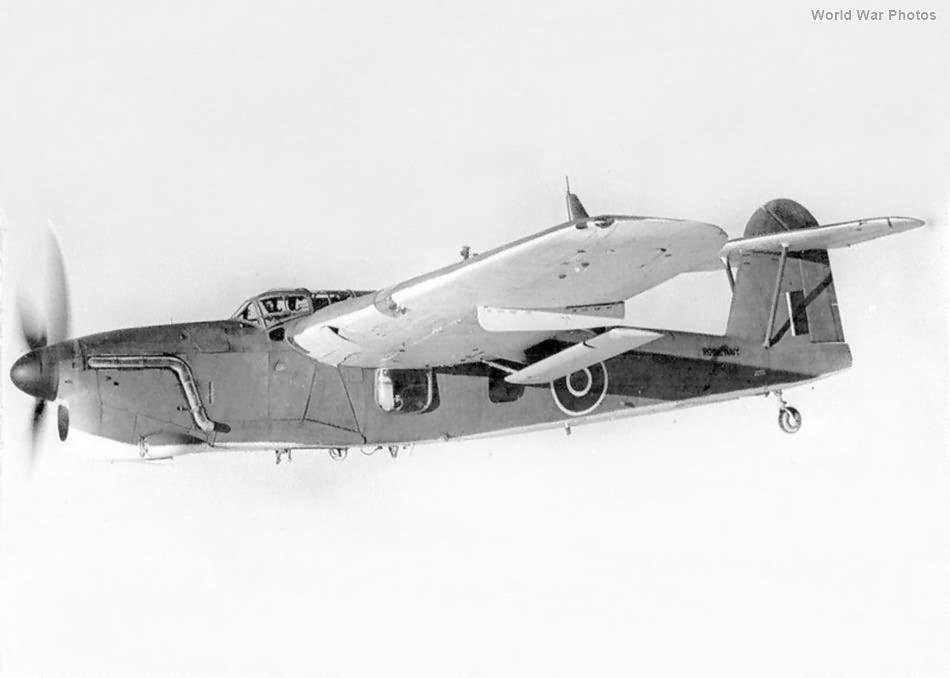 Barracuda in flight