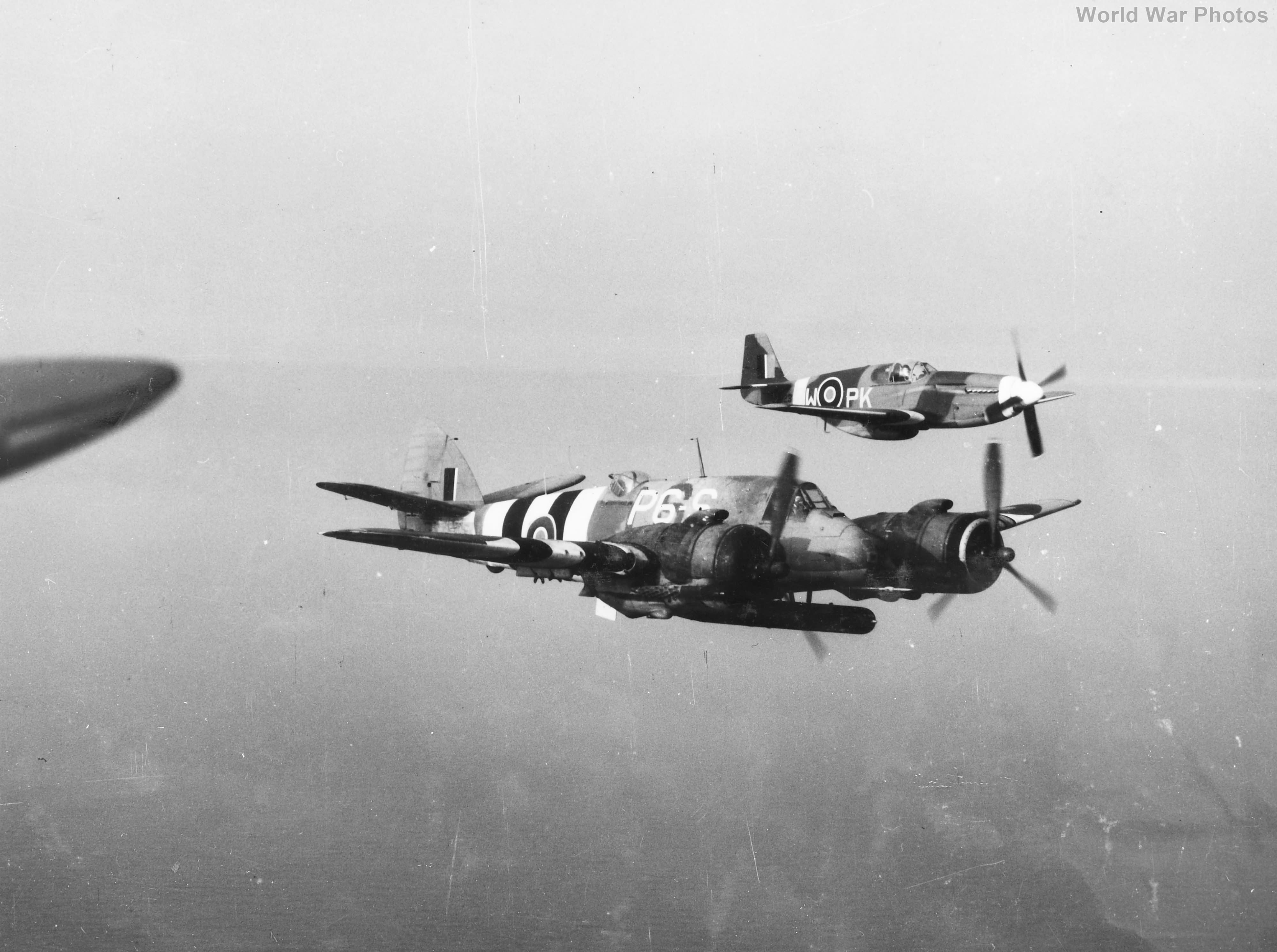 Polish P-51 Mustang and Beaufighter