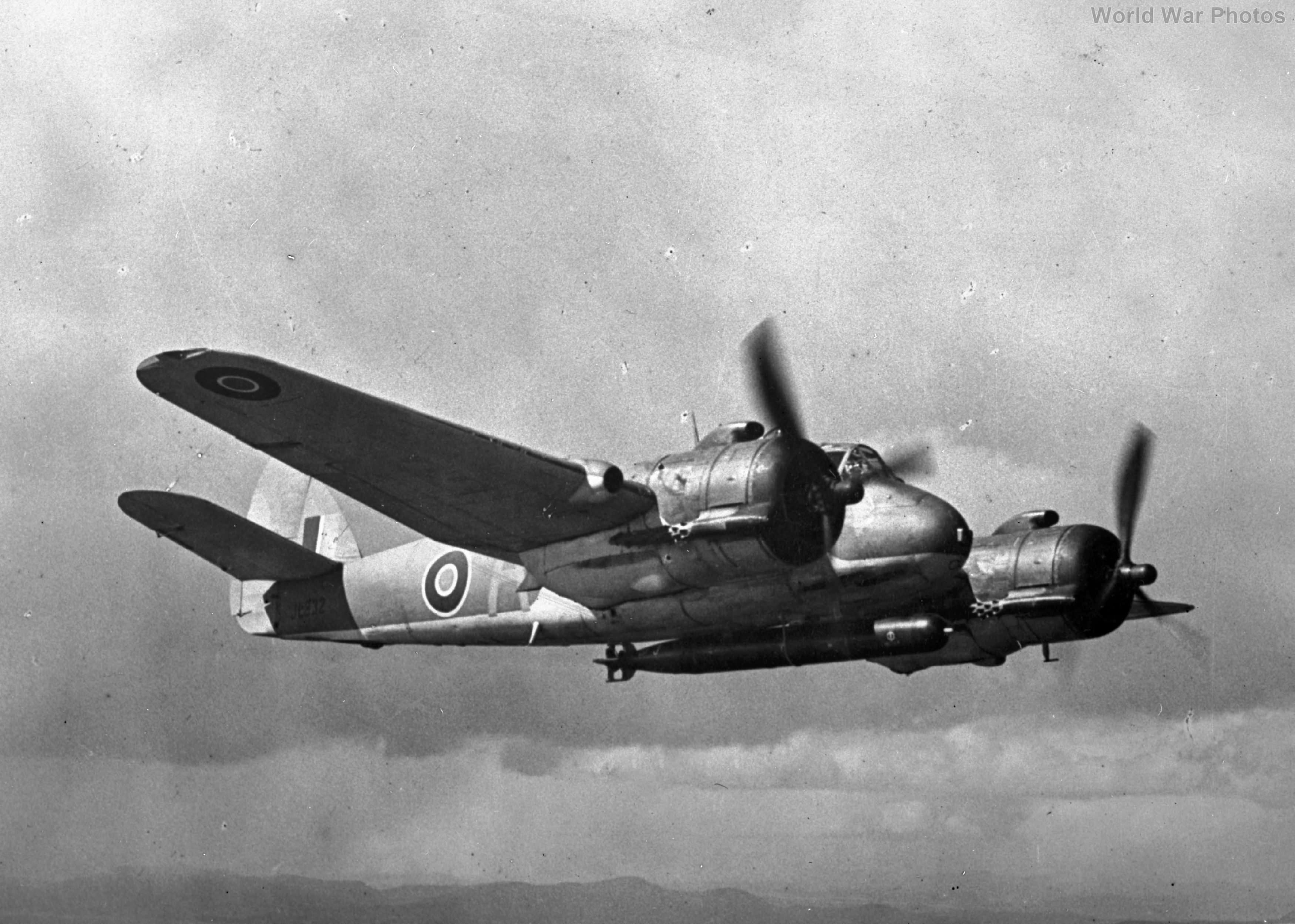 489 Squadron Beaufighter 1943