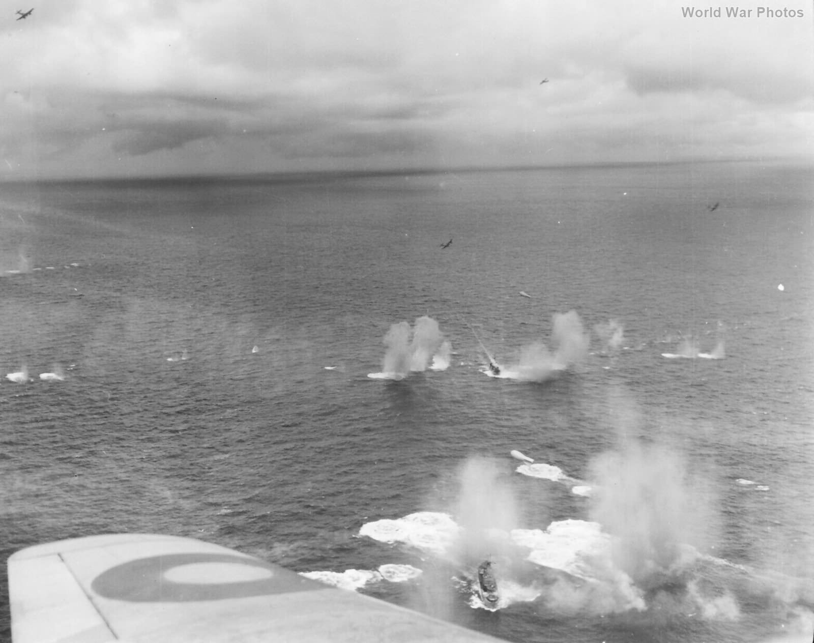 Beaufighter Convoy attack