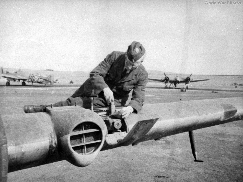 Beaufighter 489 gun camera