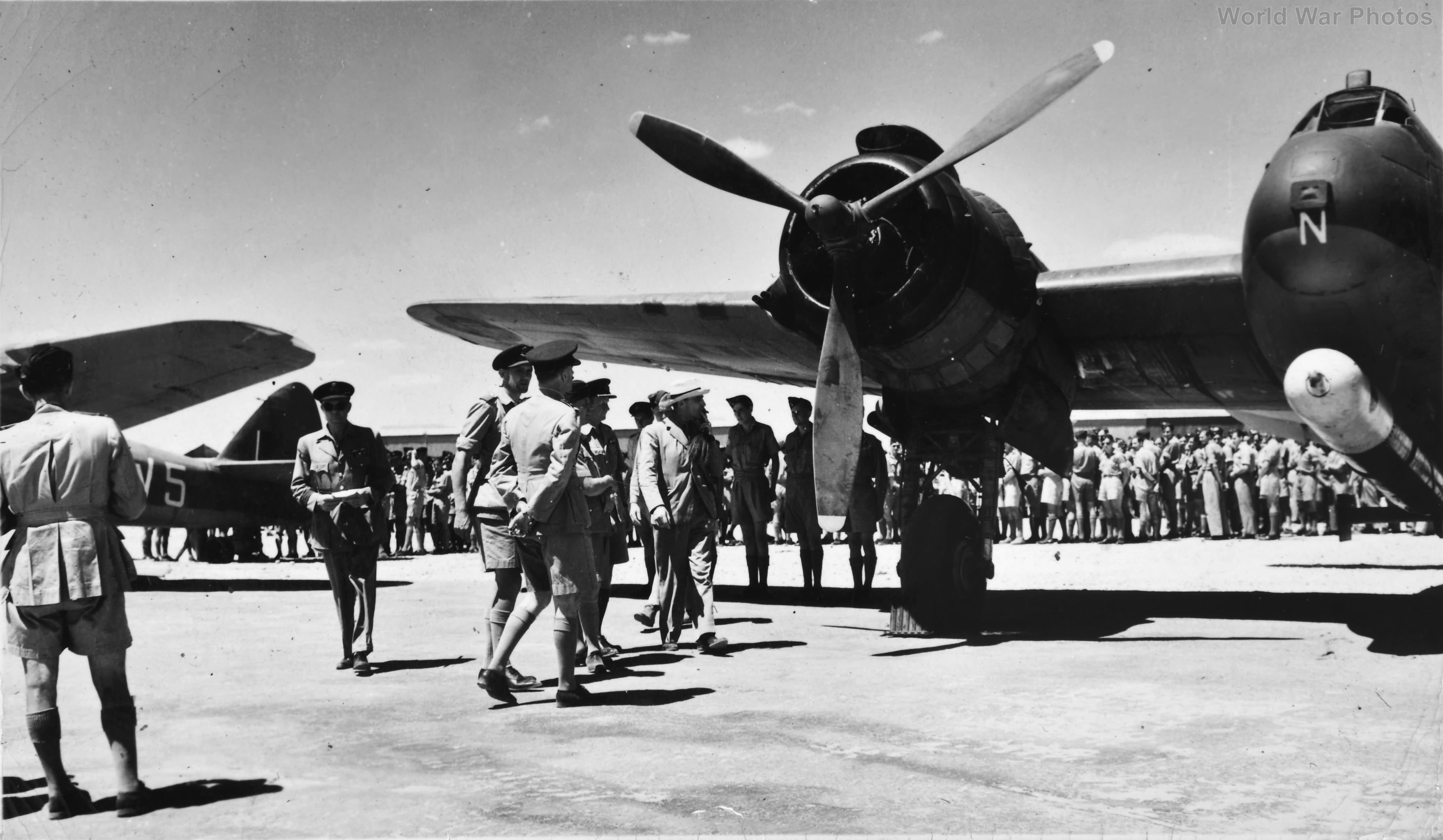 Beaufighter 5 Middle East Training School Egypt