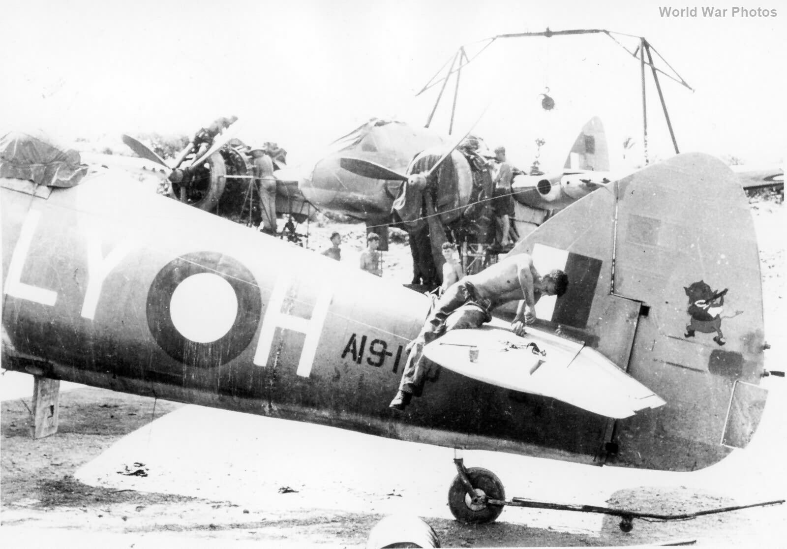 Beaufighter A19-120 30 Sqn