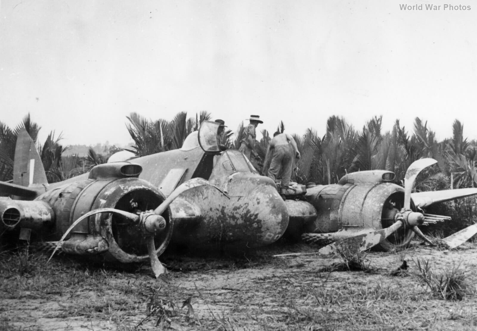 Beaufighter A8-89 22 Sqn Tarakan