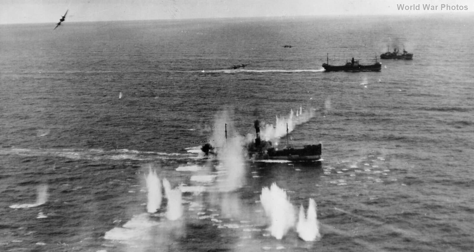 Beaufighter Convoy attack 29 March 1944