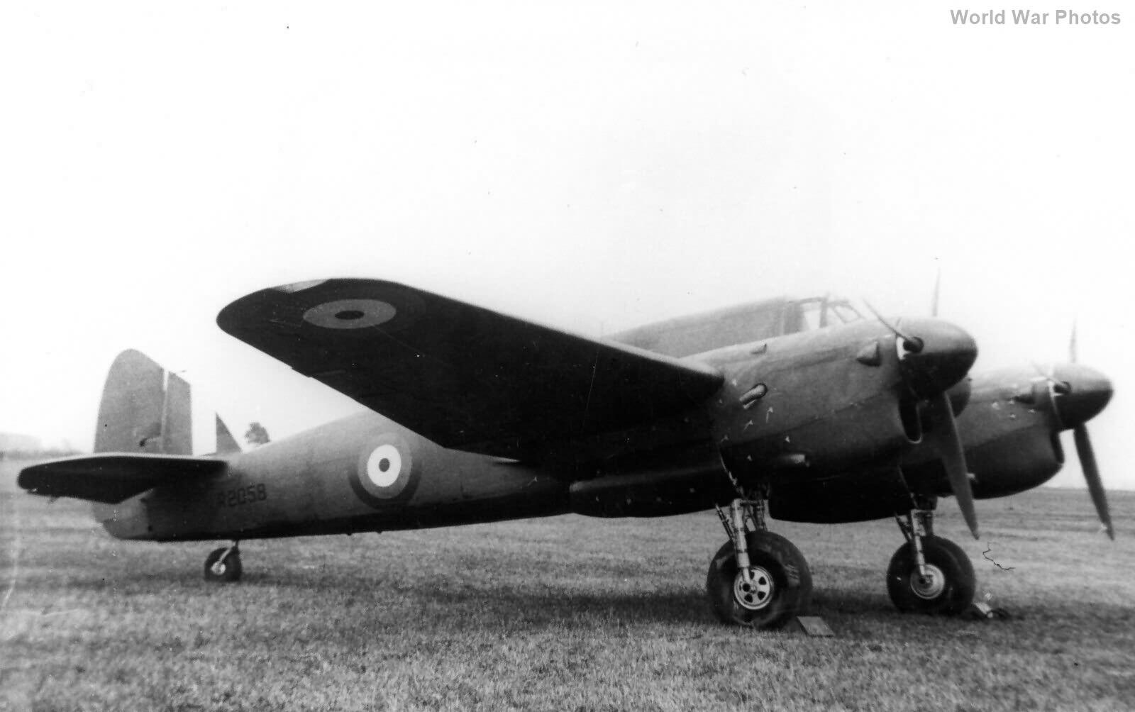 Beaufighter II Prototype R2058