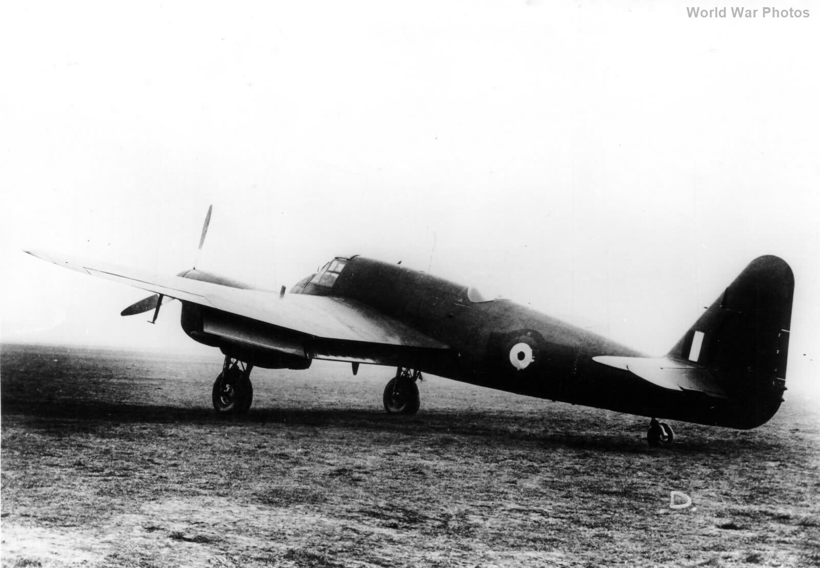 Beaufighter II Prototype R2058 2