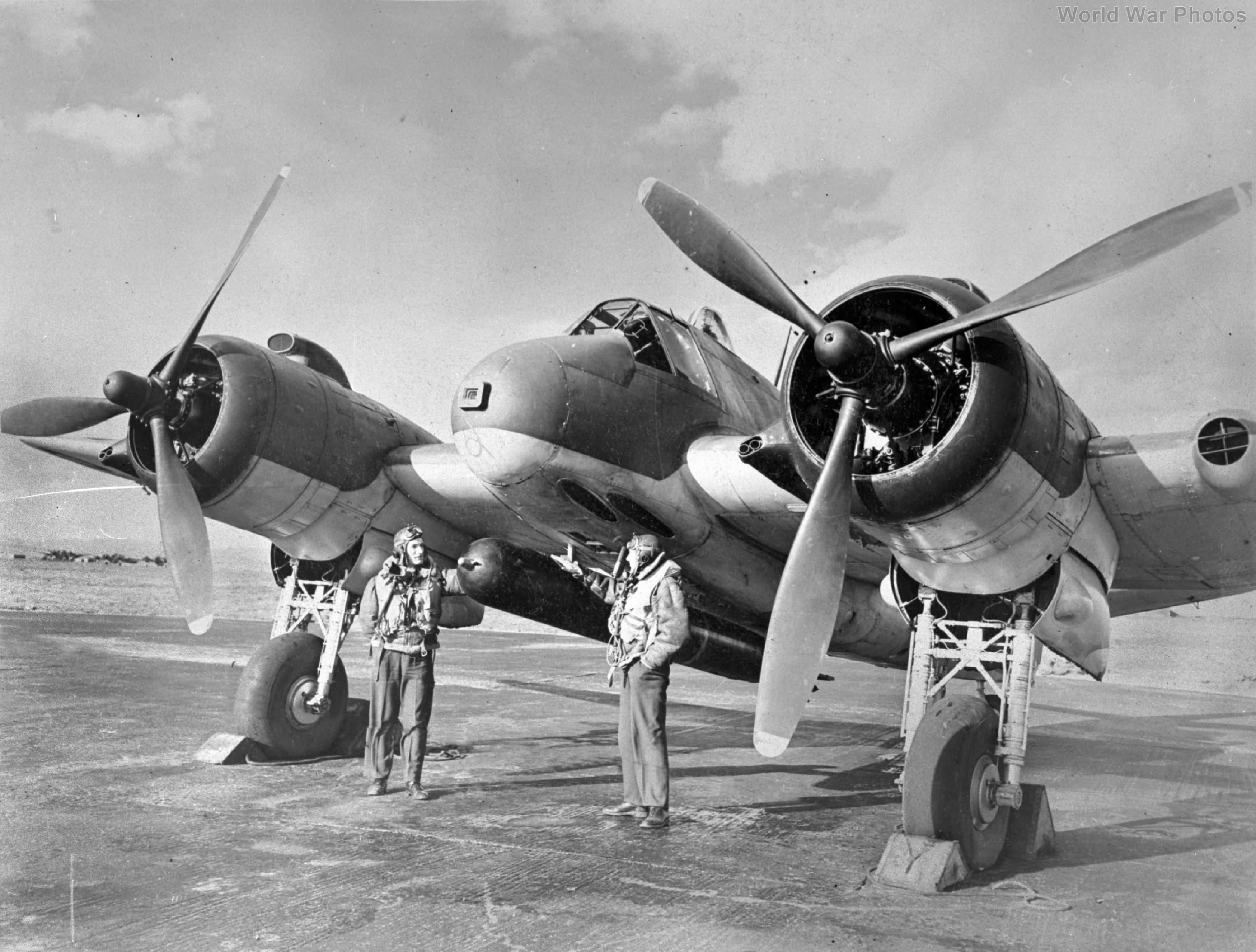 Beaufighter JL832 489 Scotland 1943