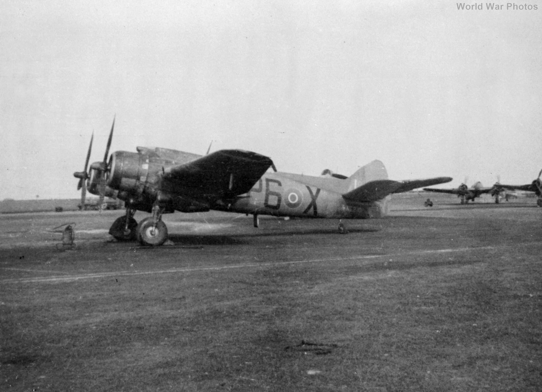 Bristol Beaufighter P6-X 1945