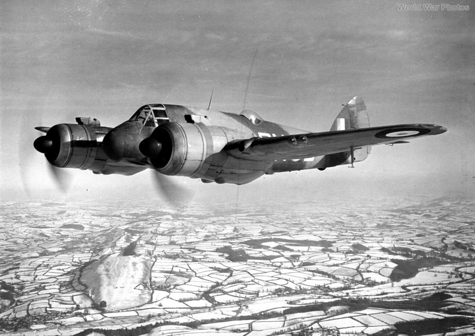Beaufighter PN-B 252 Sqn July 1941