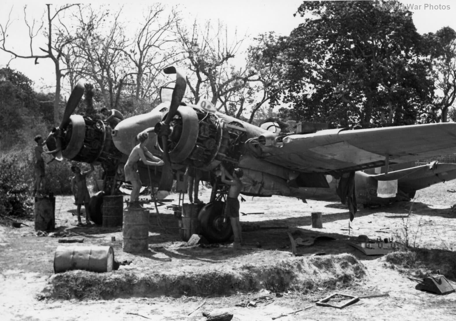 Bristol Beaufighter VIF at Nidania