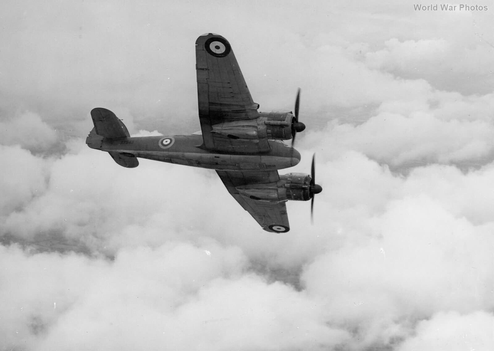 Beaufighter X7543 Mk VI prototype 3