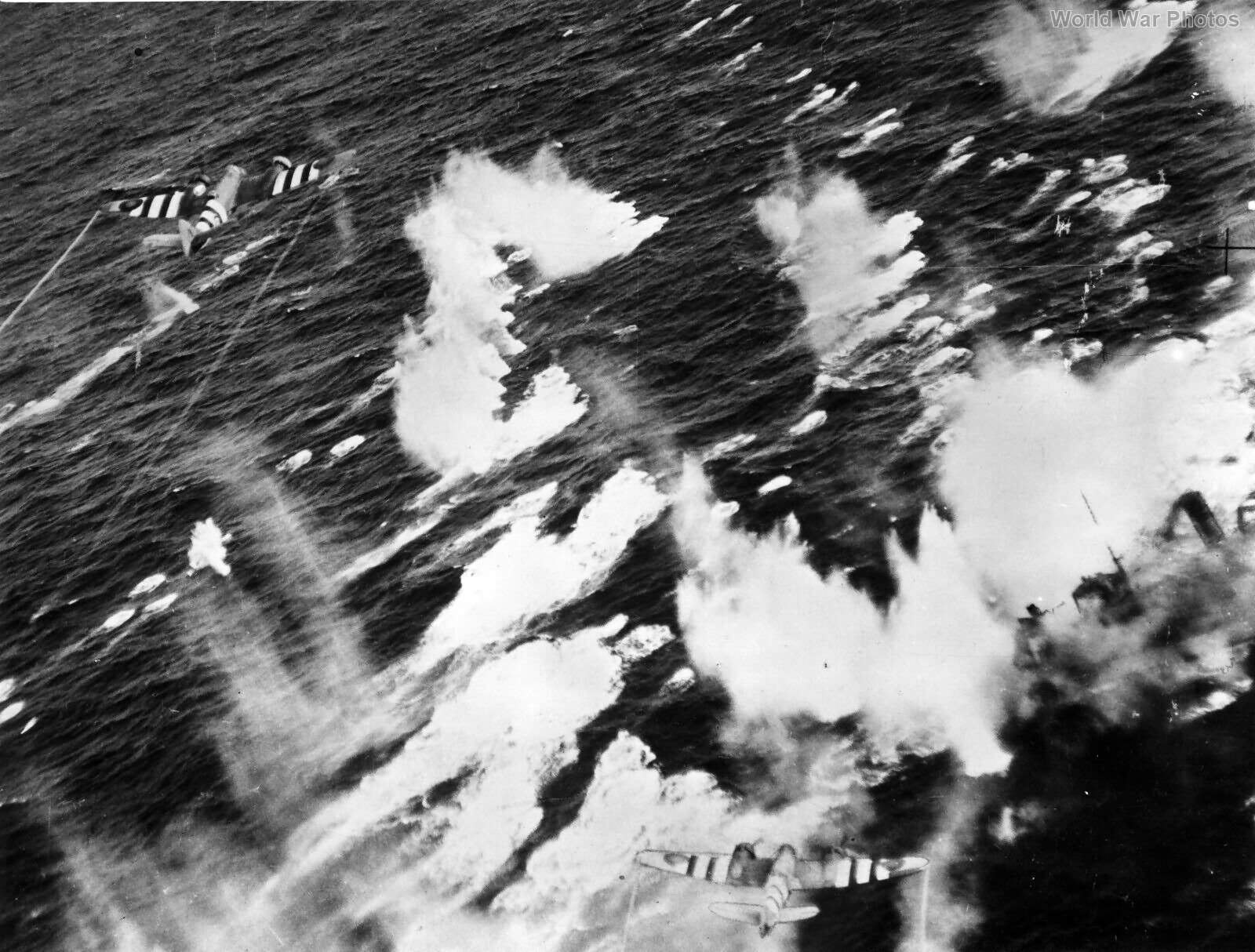 Beaufighter attack 236 Sqn