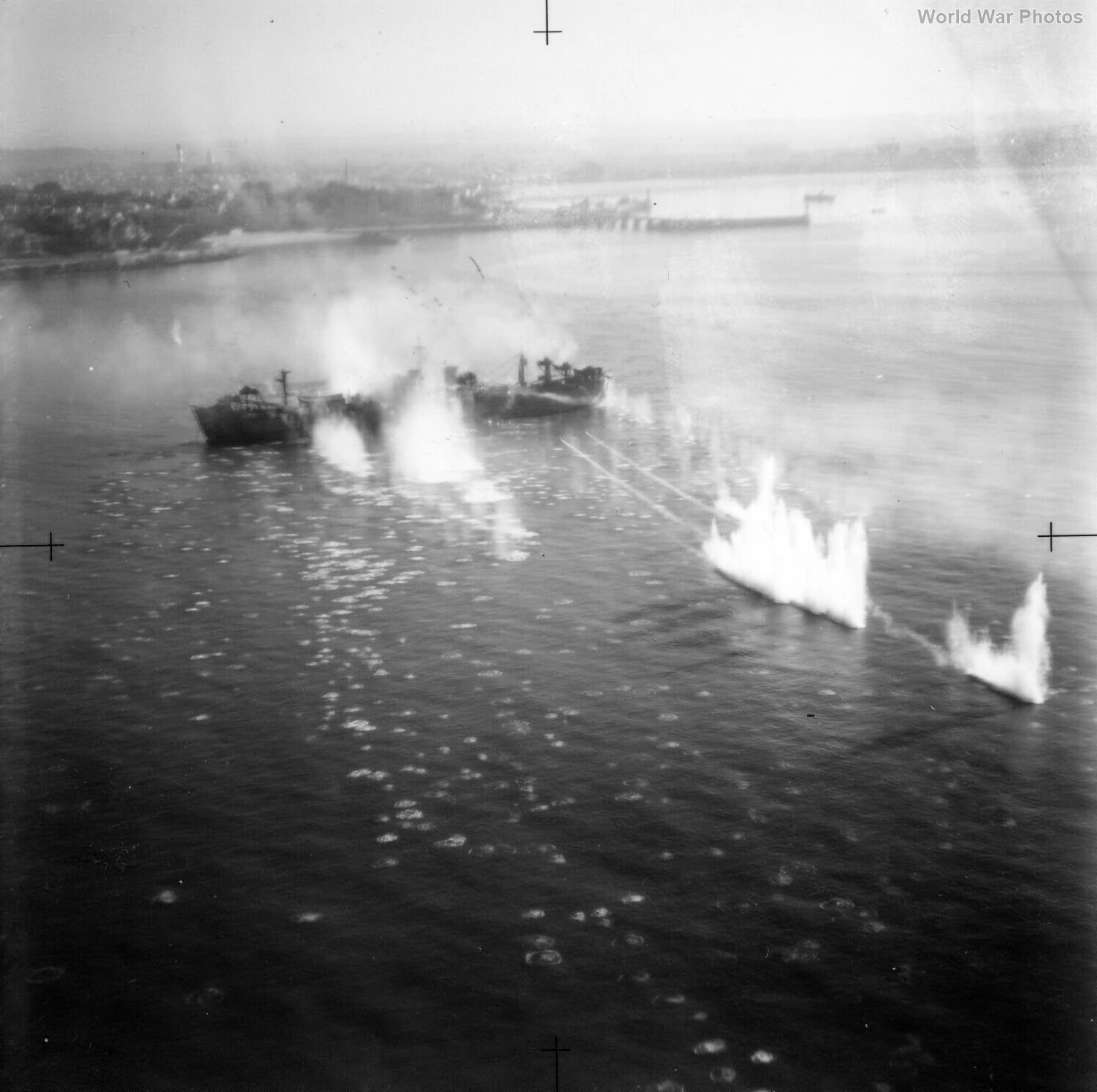 Beaufighter attack off Royan