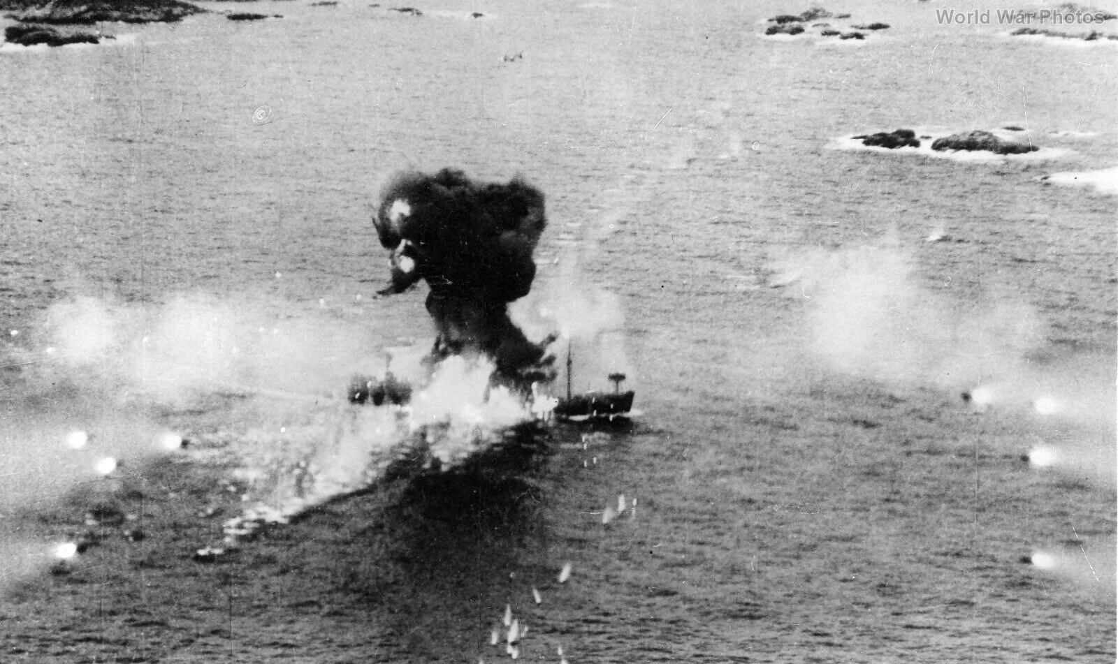 Beaufighter attack