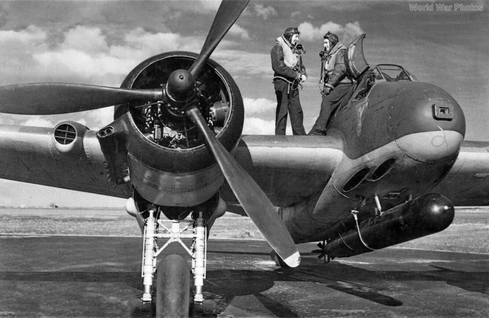 Beaufighter with torpedo