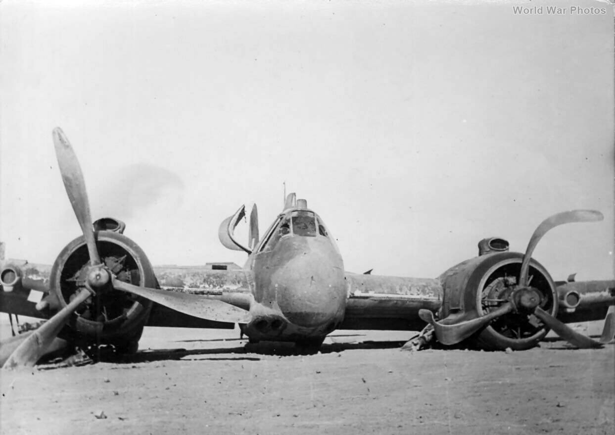 Beaufighter wreck Libya