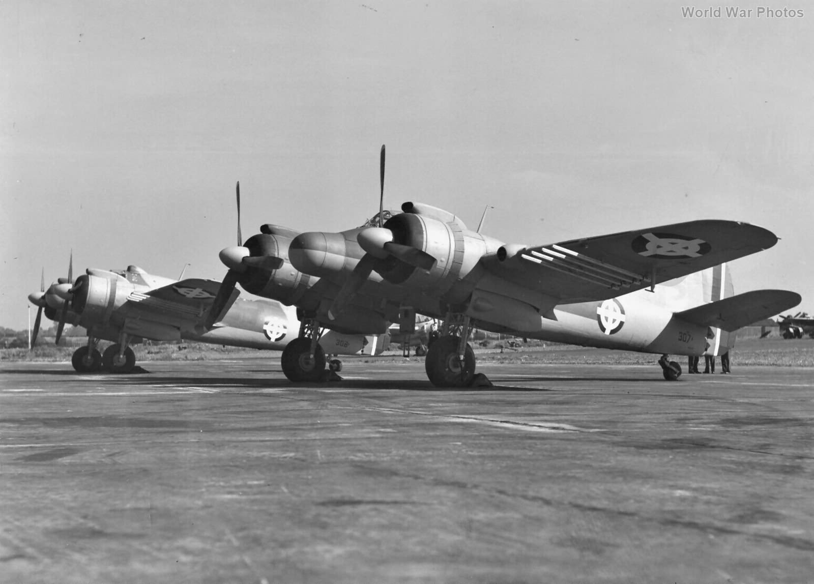 Beaufighters of Dominican Air Force