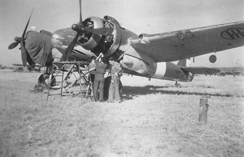 Italian Bristol Beaufighter Mk IC
