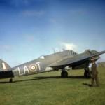 Beaufighter Mk IC T4916 code LA-T of No. 235 Squadron RAF (color photo)