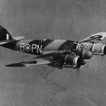 Beaufighter Mk IF R2198 PN-B of No. 252 Squadron RAF