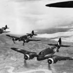 Beaufighter Mk IF night fighters of No 600 Squadron RAF