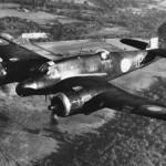 Beaufighter Mk VIF X7579 night fighter prototype with centimetric AI radar