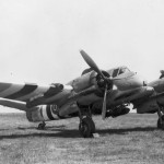 Beaufighter TF Mk X NT921 of No 254 Squadron RAF with D-Day invasion stripes