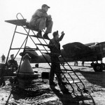 Beaufighter in Grottaglie Italy 17 November 1943