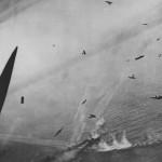 Beaufighters Shoot Up German Convoy 1945