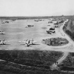 Beaufighters of the 415th and 417th NFS La Vailon airfield France