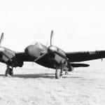 Night fighter Bristol Beaufighter Mk IIF with AI Mk IV radar