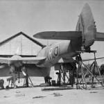 Bristol Beaufighter Mk VIF X8092 code 'R' of No 27 Squadron RAF Agartala India