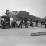 Bristol Beaufighter NF Mk VI code ZJ-R of No 96 Squadron RAF
