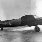 Bristol Beaufighter T3032 with extended dorsal fin