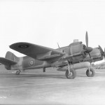 Bristol Beaufighter TFX RD758 (SNAKE) with 200 gallons drop tank on torpedo rack