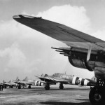 Bristol Beaufighter TF Mk X of No 455 Squadron RAAF about to depart from Langham Norfolk