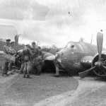 Crashed Bristol Beaufighter of RAAF New Guinea