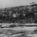 RAAF Beaufighter Strafes Japanese Zero on Kai Island 1943