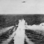RAF Coastal Command Beaufighter Blasts German Ship 1944