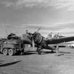 USAAF Beaufighter Honeychile of the 416th Night Fighter Squadron refueling Grottaglie, Italy 17 Nov 1943