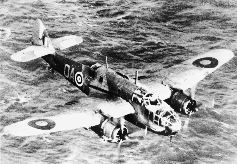 Bristol Beaufort in low level flight