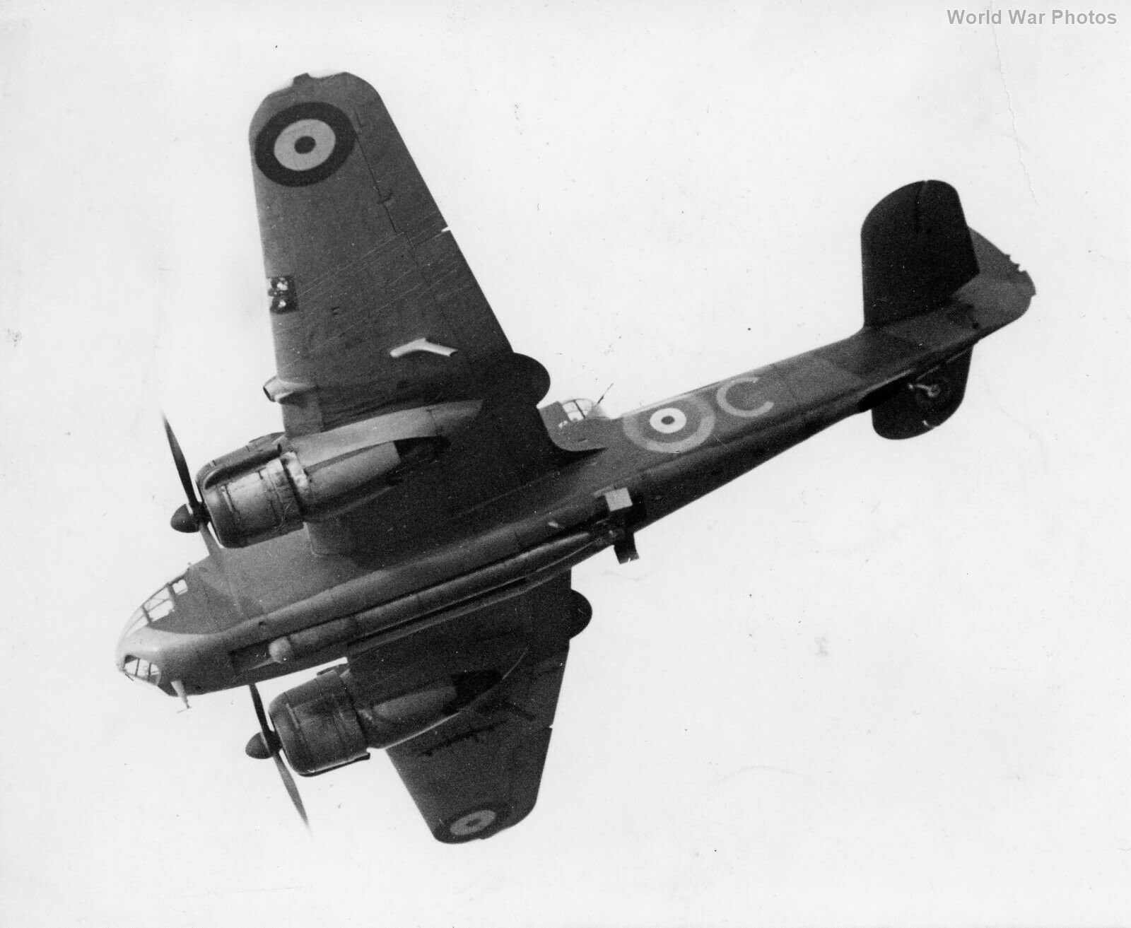 Bristol Beaufort with torpedo
