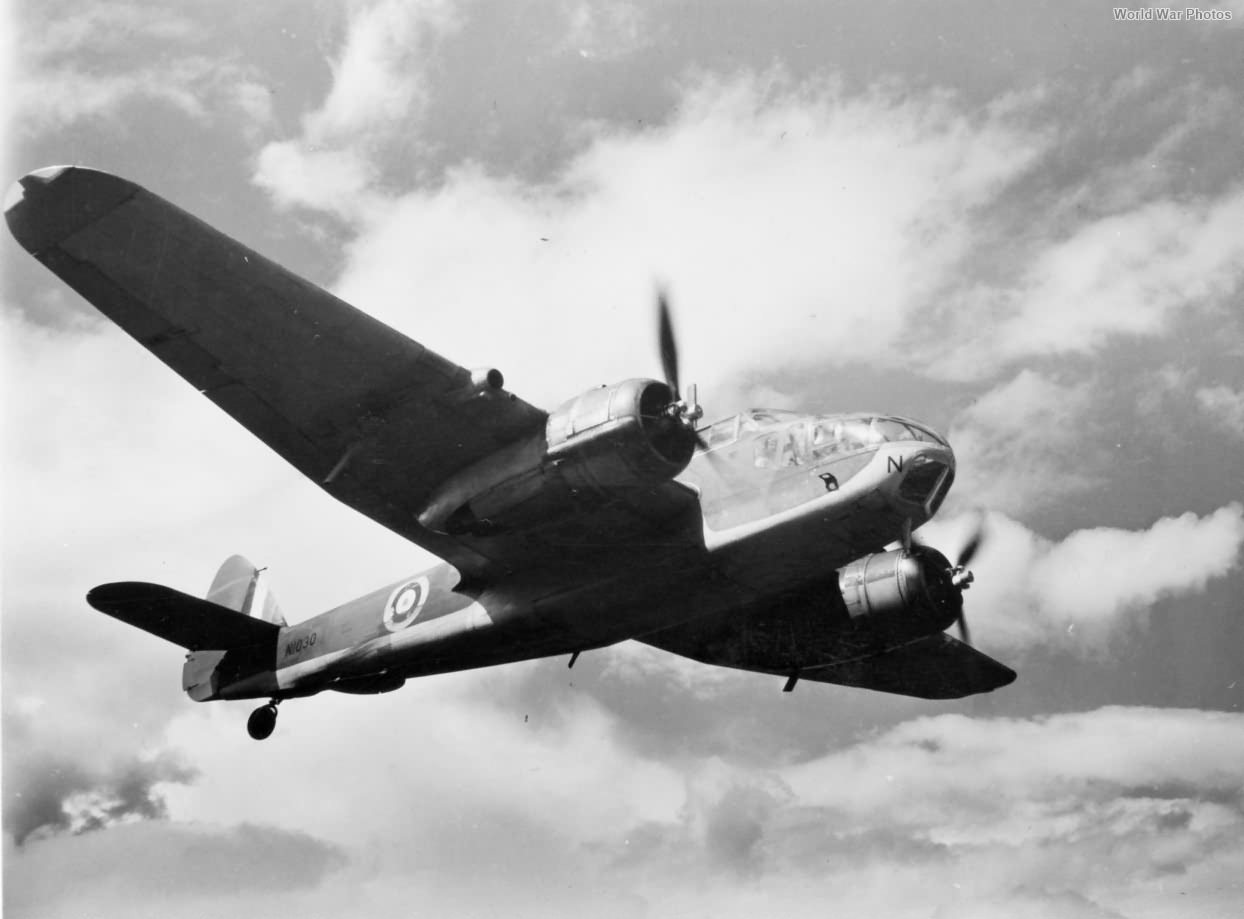 Canadian Bristol Beaufort N1030 over Patricia Bay 18 June 1943