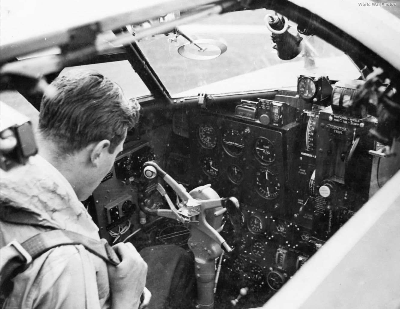 Beaufort cockpit 22 Sqn
