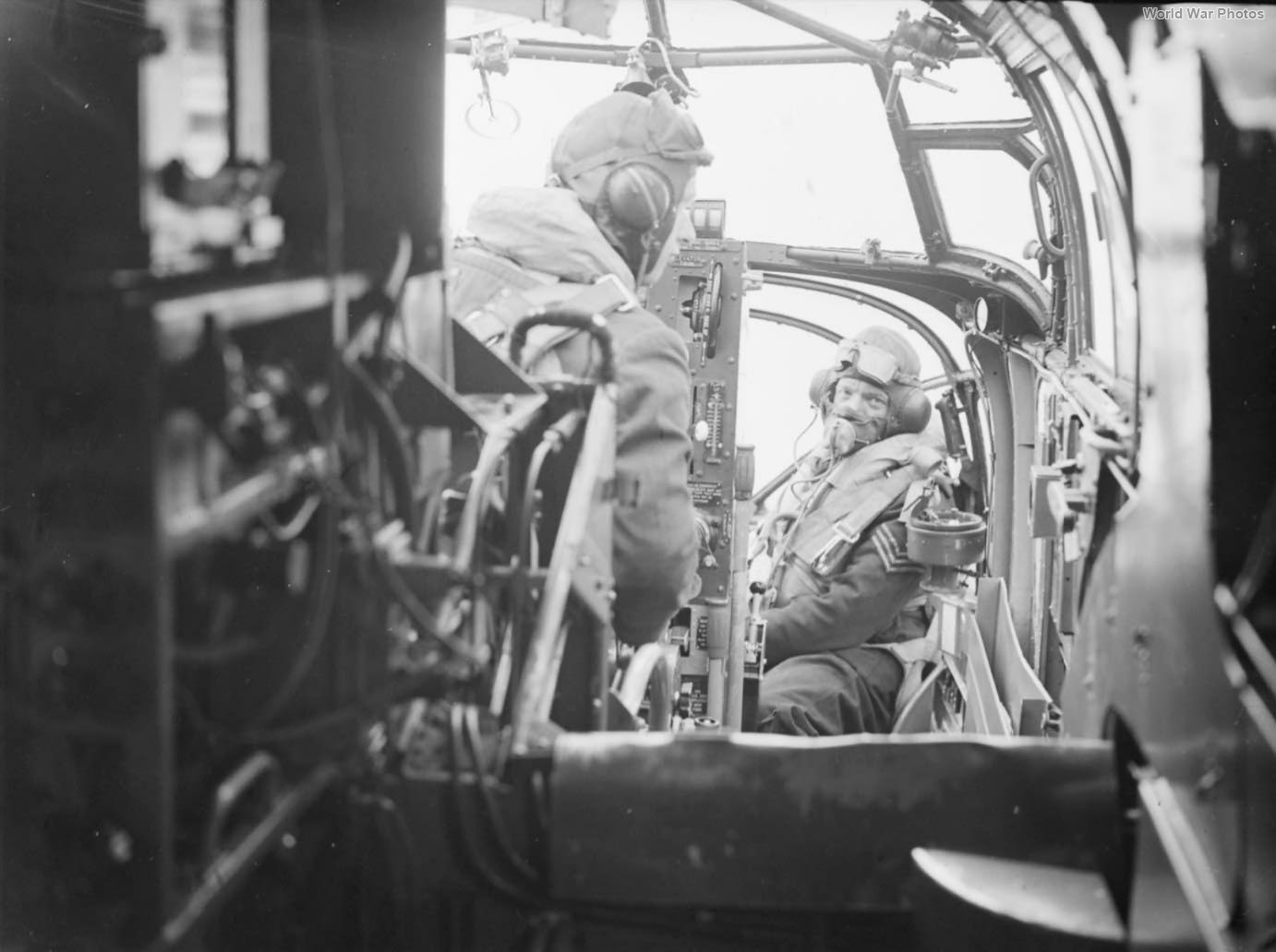 Beaufort cockpit 22 Sqn 2