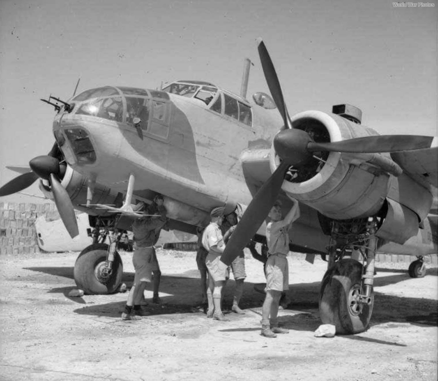 Bristol Beaufort of No. 217 Squadron RAF Malta
