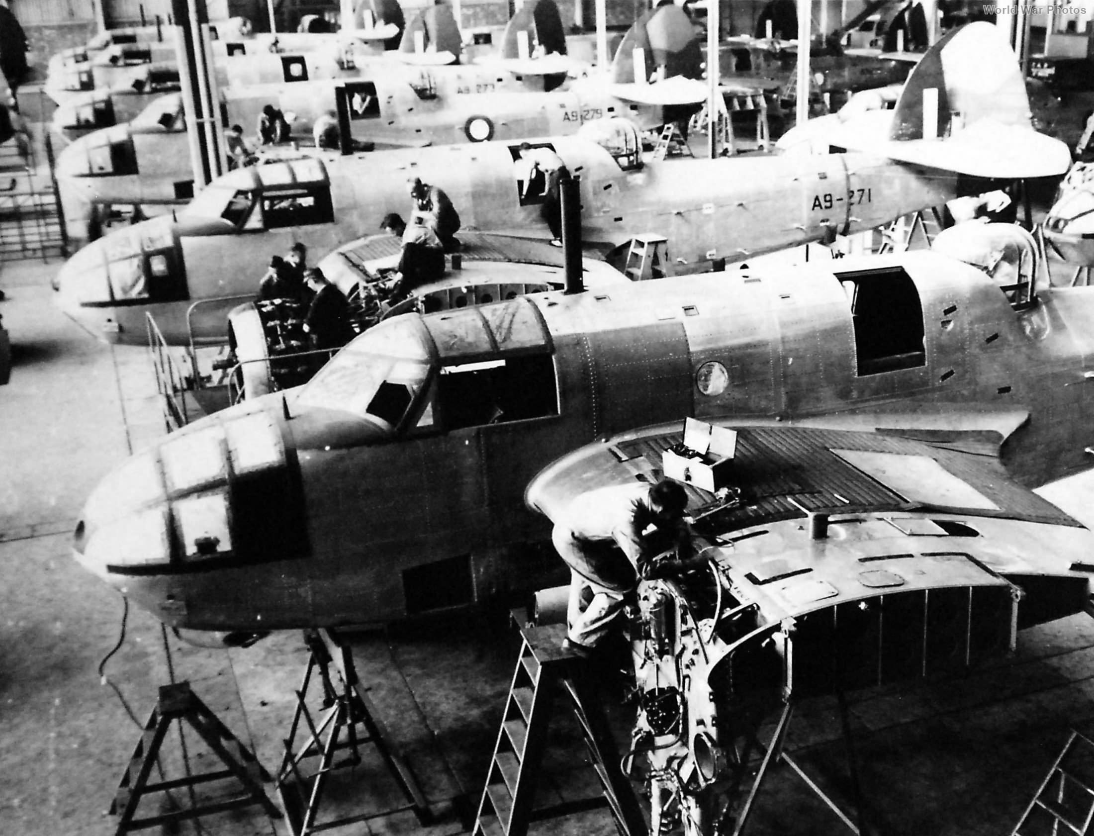 Melbourne Australia 1942 Beaufort