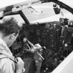 Beaufort cockpit 22 Sqn